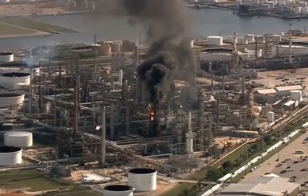Explosion reported at Valero refinery in Texas City, Texas