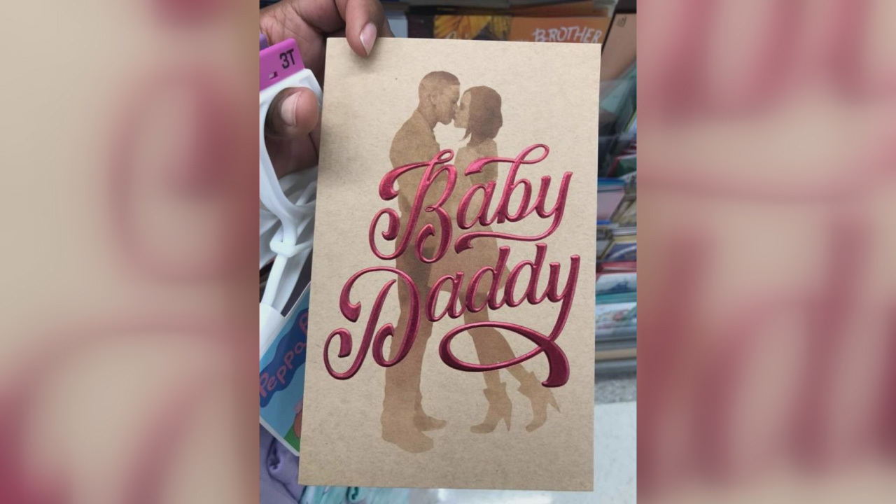 Target Baby daddy card