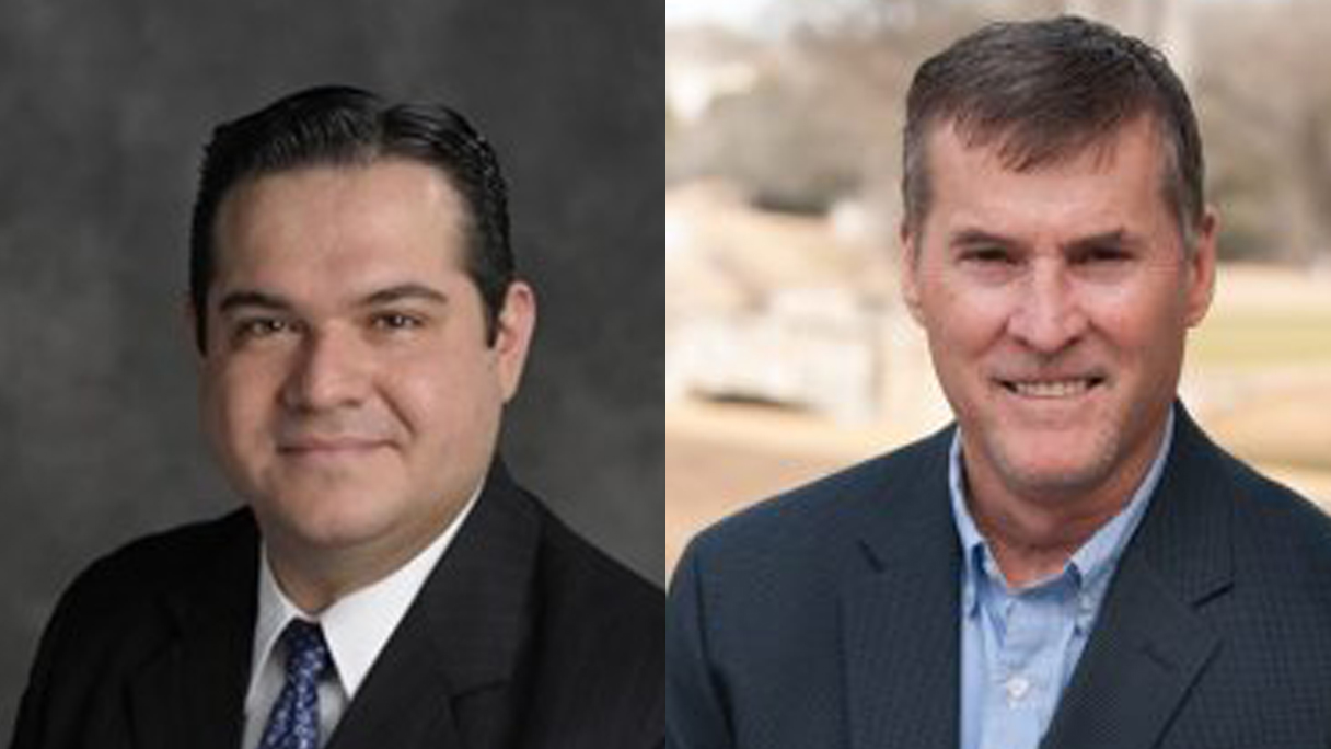 leander mayoral candidates_Vic Villarreal and Troy Hill