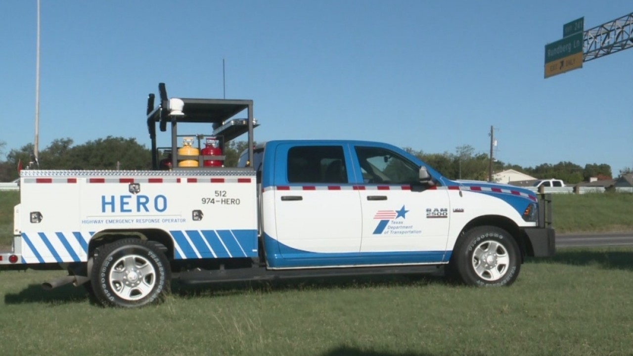 TxDOT HERO roadside assistance