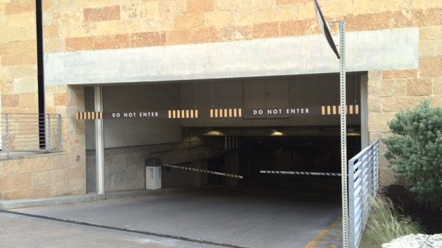 Austin City Hall parking garage