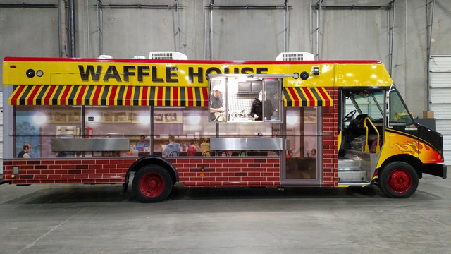 Waffle Houston food truck