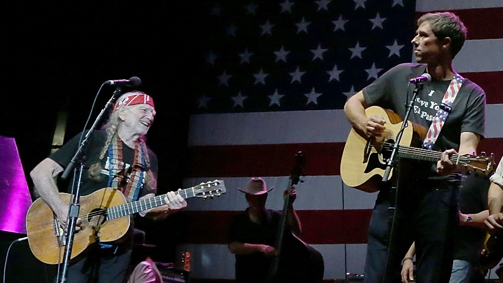 Willie Nelson Beto O'Rourke