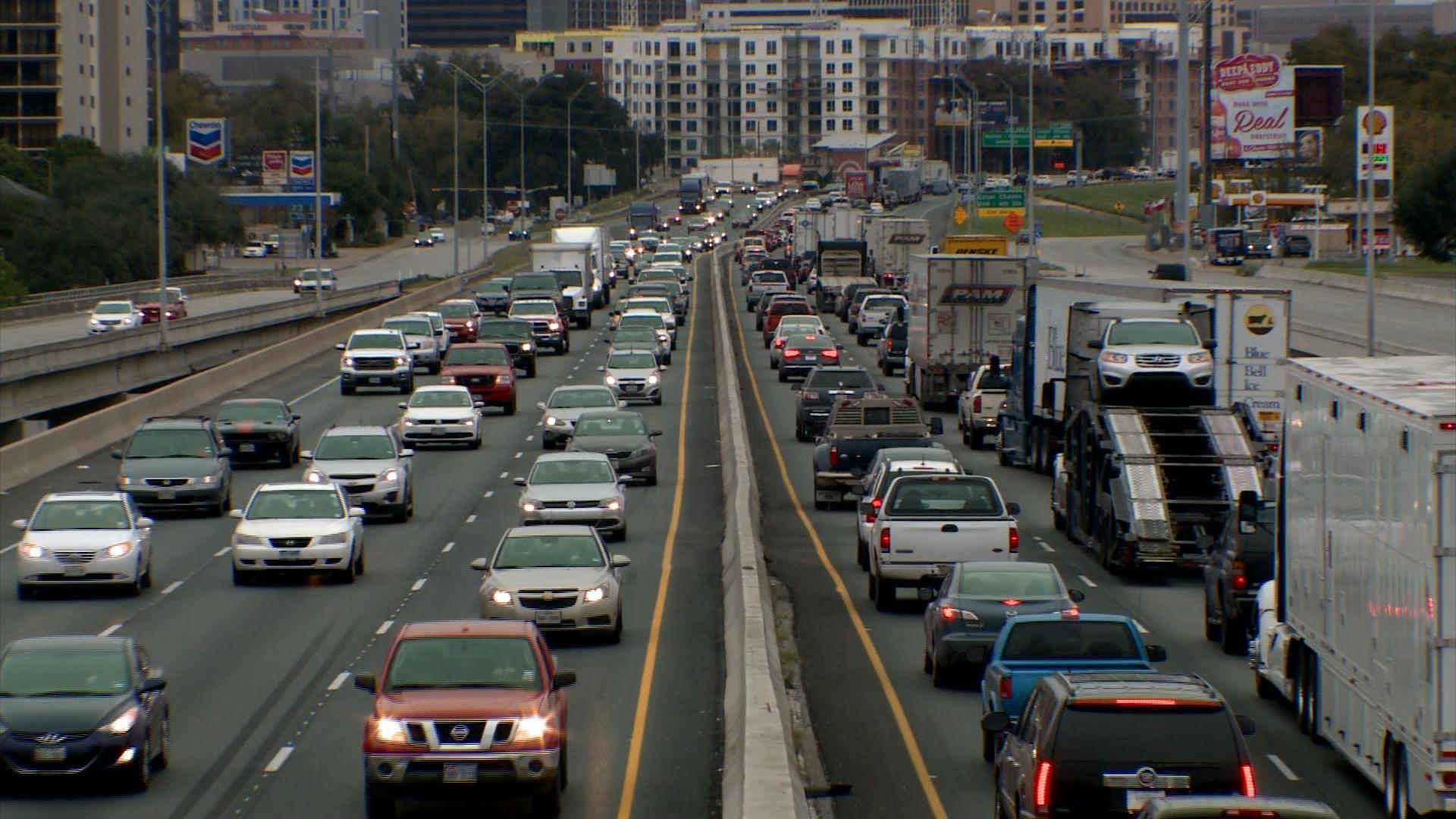 i- 35 traffic