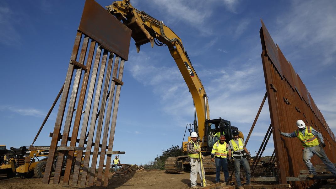 Border Wall file photo