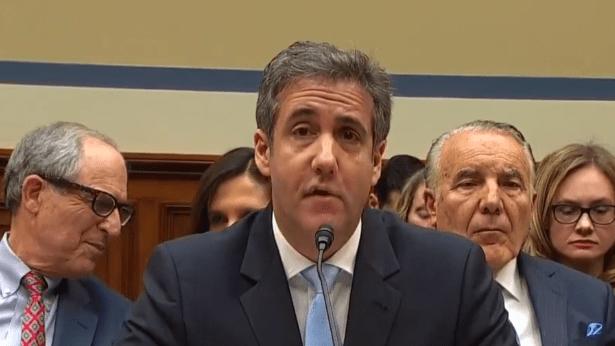 Cohen Testimony Congress