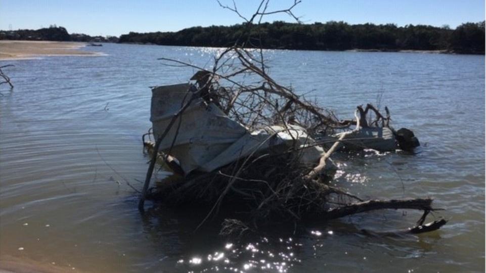 Lake LBJ debris