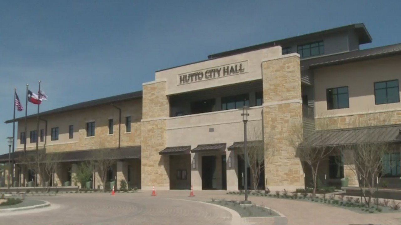 Hutto's brand new City Hall opened for business