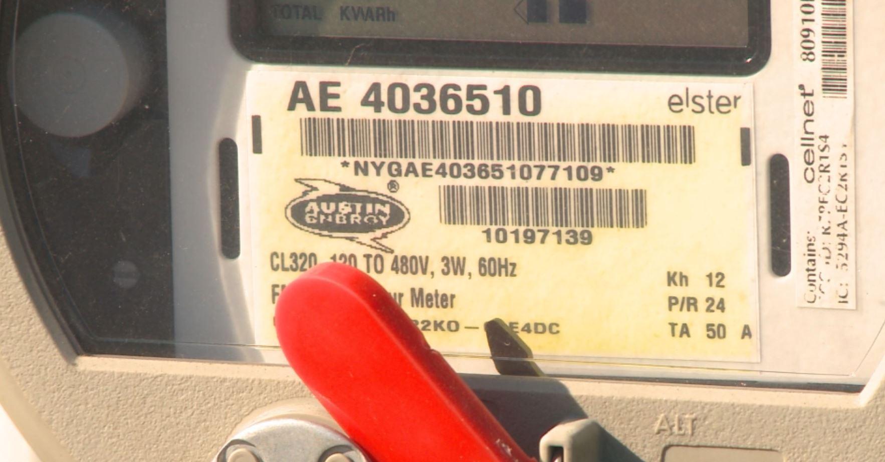 Austin Energy Electric Meter box_289722