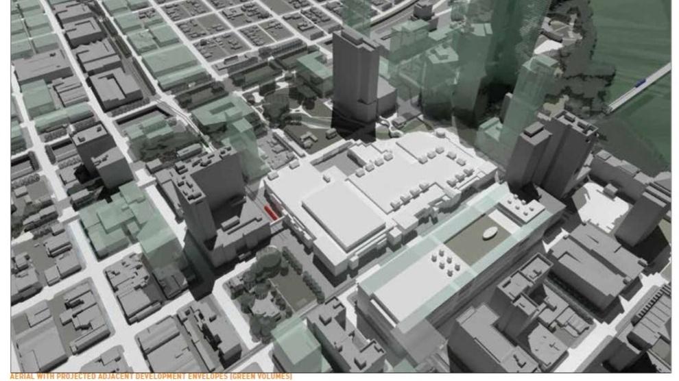 Scenario 5 rendering UT convention center study