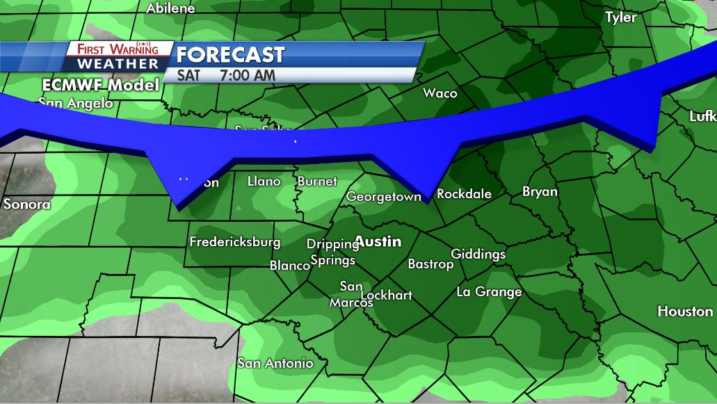 First Warning: Cold front and rain may break historic