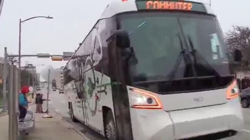 New CapMetro elecric bus