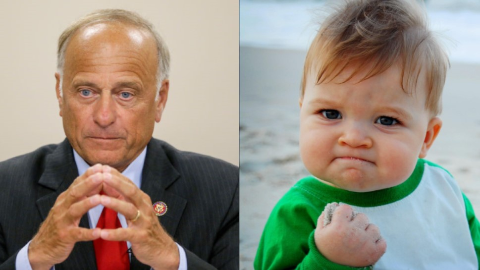 Steve King and Success Baby
