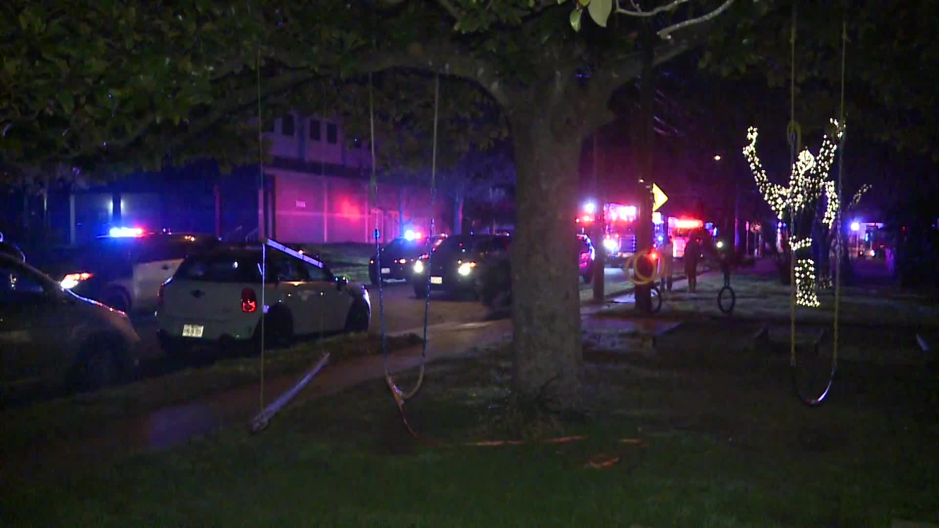 Brentwood Street crash