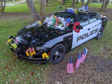 Public memorial service for slain San Marcos police officer set for Sunday
