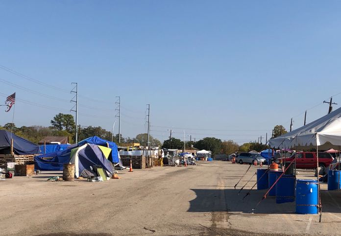 New plans unveiled: 200 micro-shelters to be placed at state-owned homeless camp