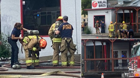 Halal Bros on UT Drag burns Friday, no injuries reported