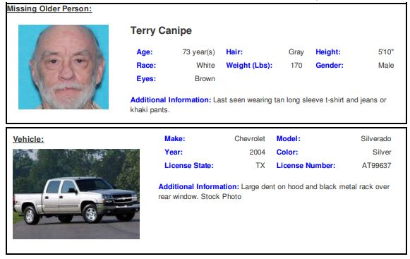 APD searching for 73-year-old man