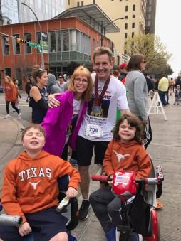 Leander man runs 16th Ascension Seton Austin Marathon to raise money for Duchenne muscular dystrophy