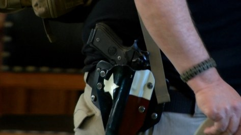 Texas Senate passes bill allowing permitless carry of firearms
