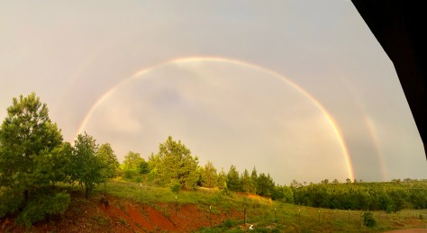 YOUR PHOTOS: Rainbows, mammatus clouds seen after severe storms Tuesday