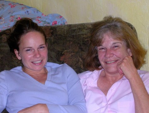 Cindy Pierce, pictured with her daughter. (Photo provided by Elyse Yates)