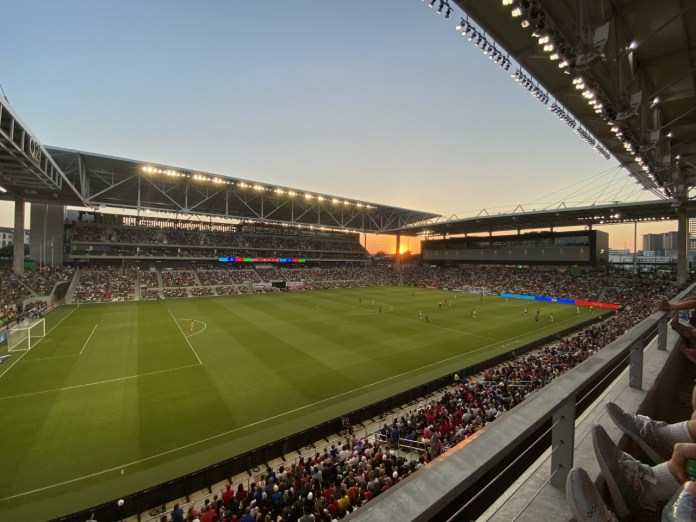 Parking, transportation to Q2 Stadium goes smoothly for most fans at USWNT match