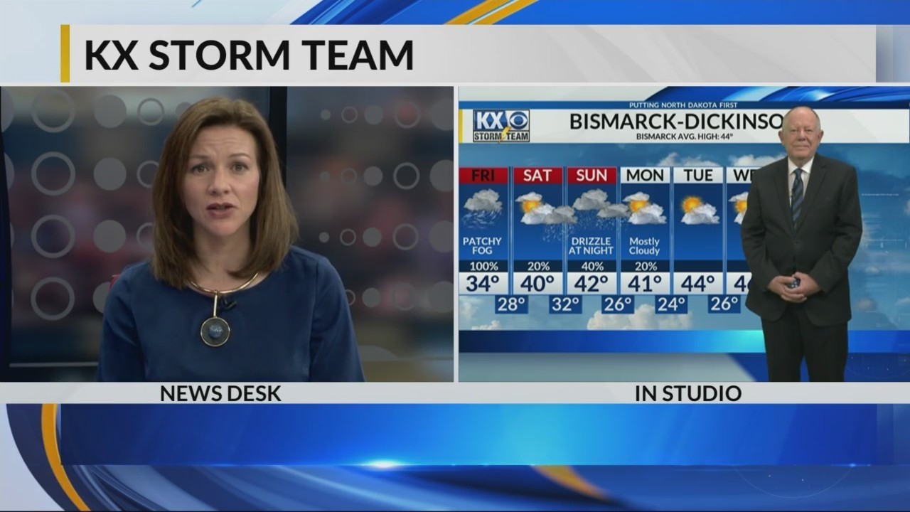 Late night weather forecast from Tom Schrader--KX Storm Team