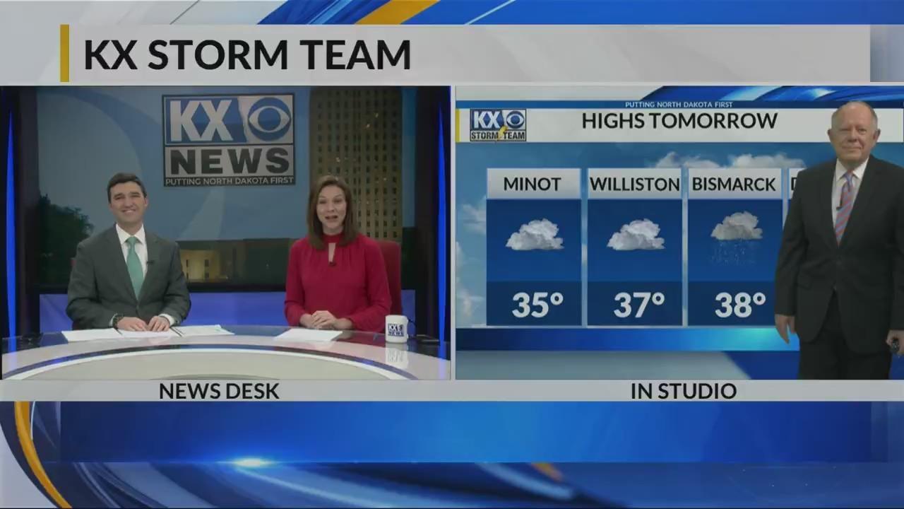 KX Storm Team Evening Forecast 4-11