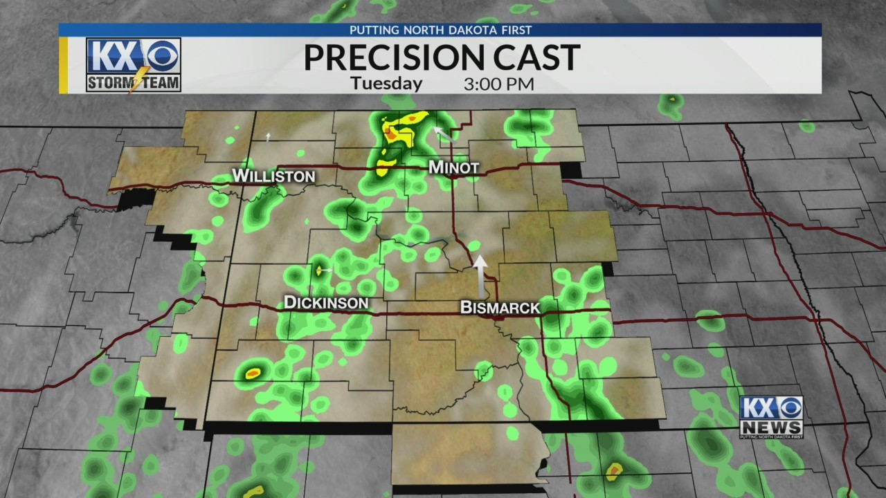 Amber's Tuesday Morning One Minute Forecast 5/29