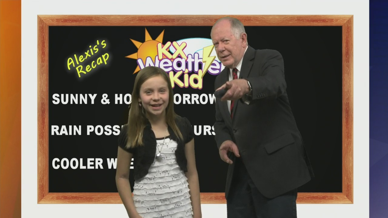 KX Weather Kid Alexis Binckley 5-15