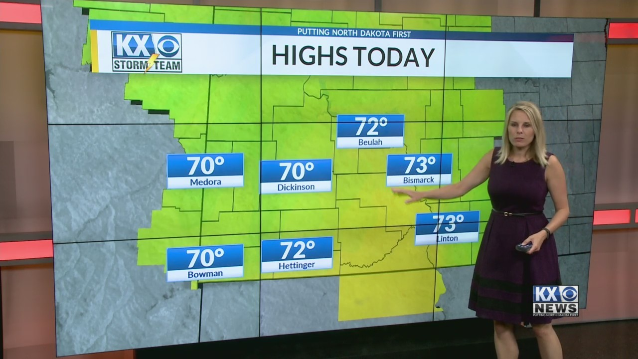 Amber's Monday Morning Storm Team forecast 6/11