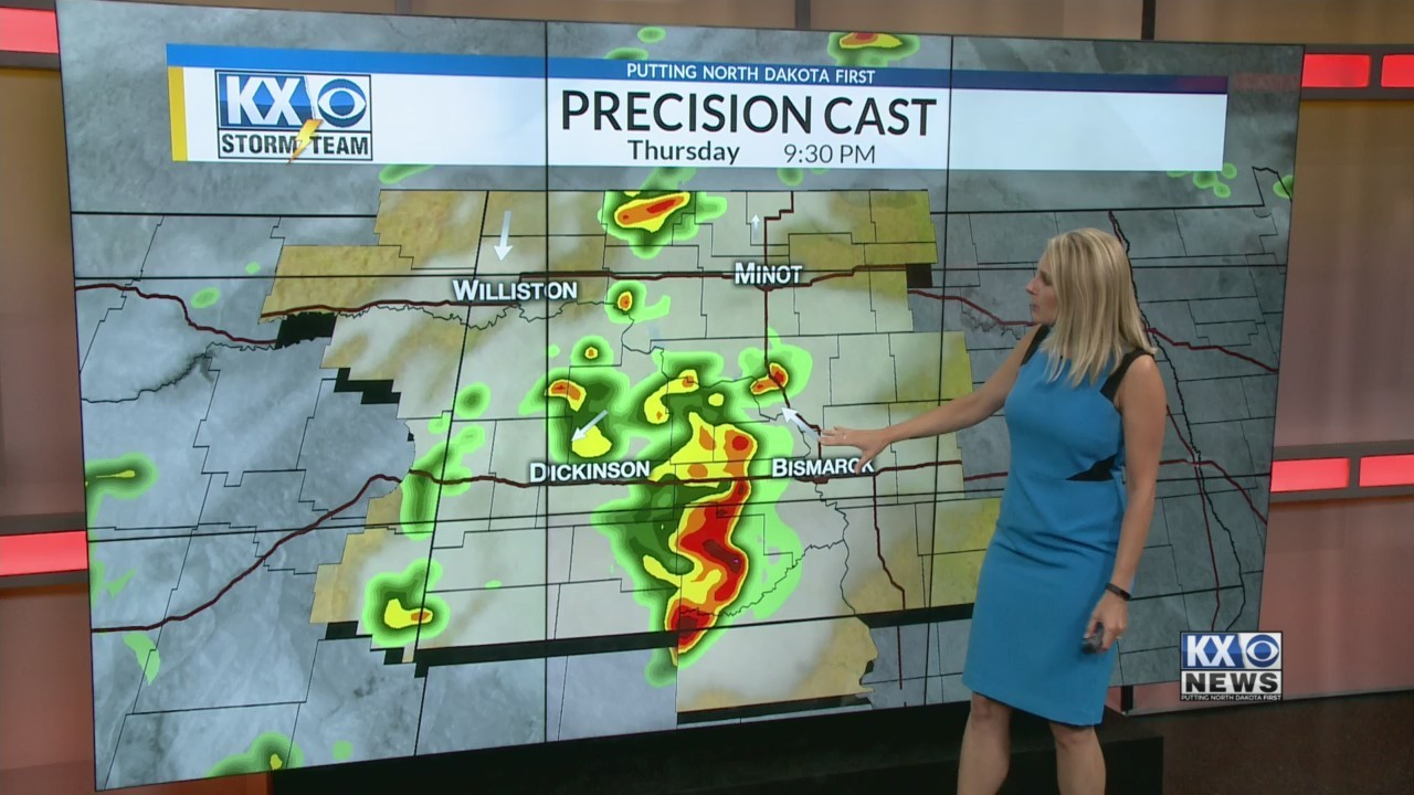 Amber's Wednesday Morning One Minute Forecast 6/27