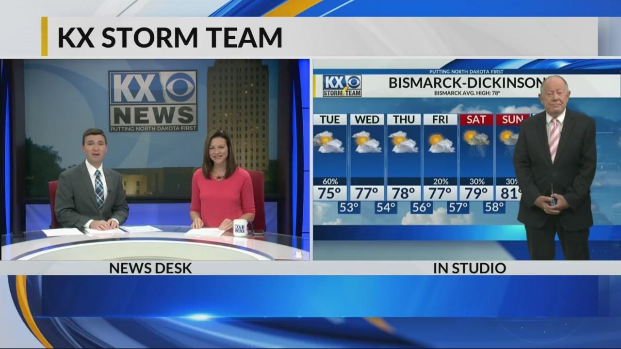 KX Storm Team Evening Forecast 6-18-18