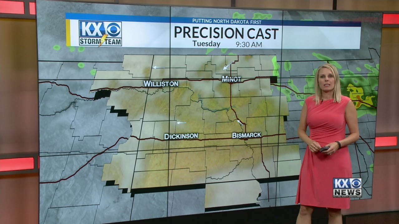 Amber's Tuesday Morning One Minute forecast 7/10