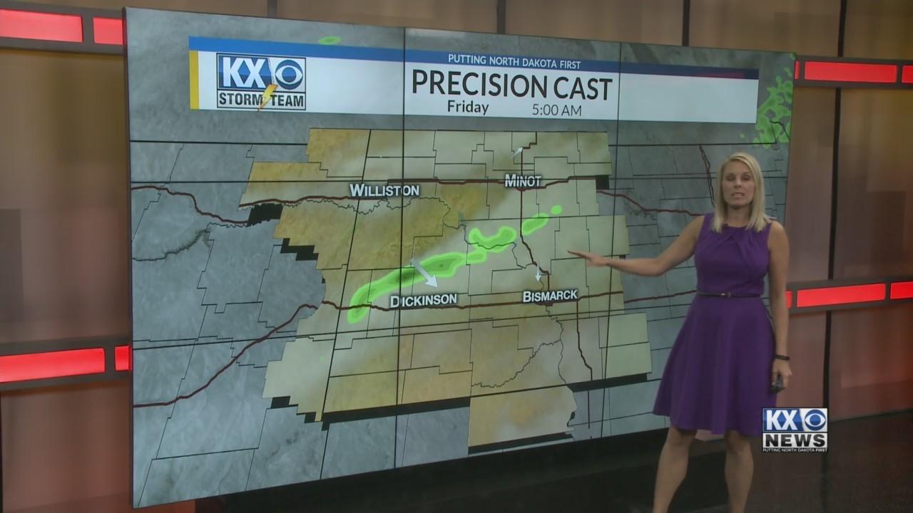 Amber's Thursday Morning One Minute Forecast 8-30