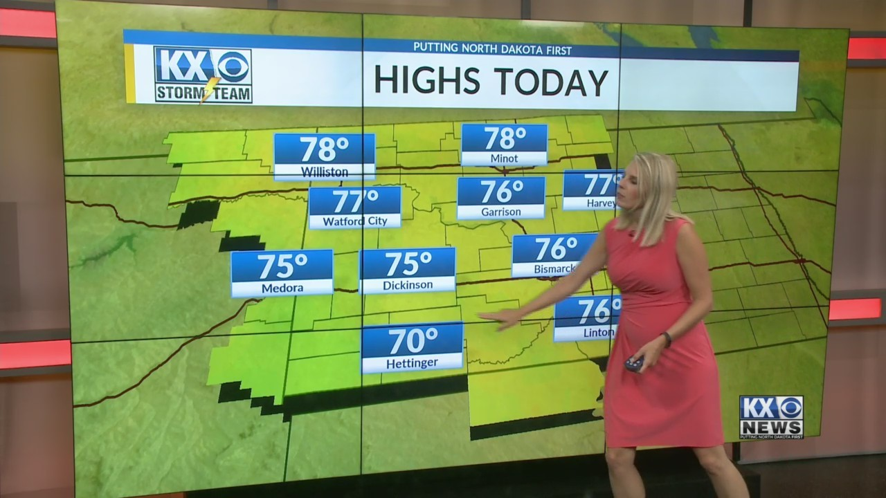 Amber's Tuesday Morning One Minute Forecast 8/21