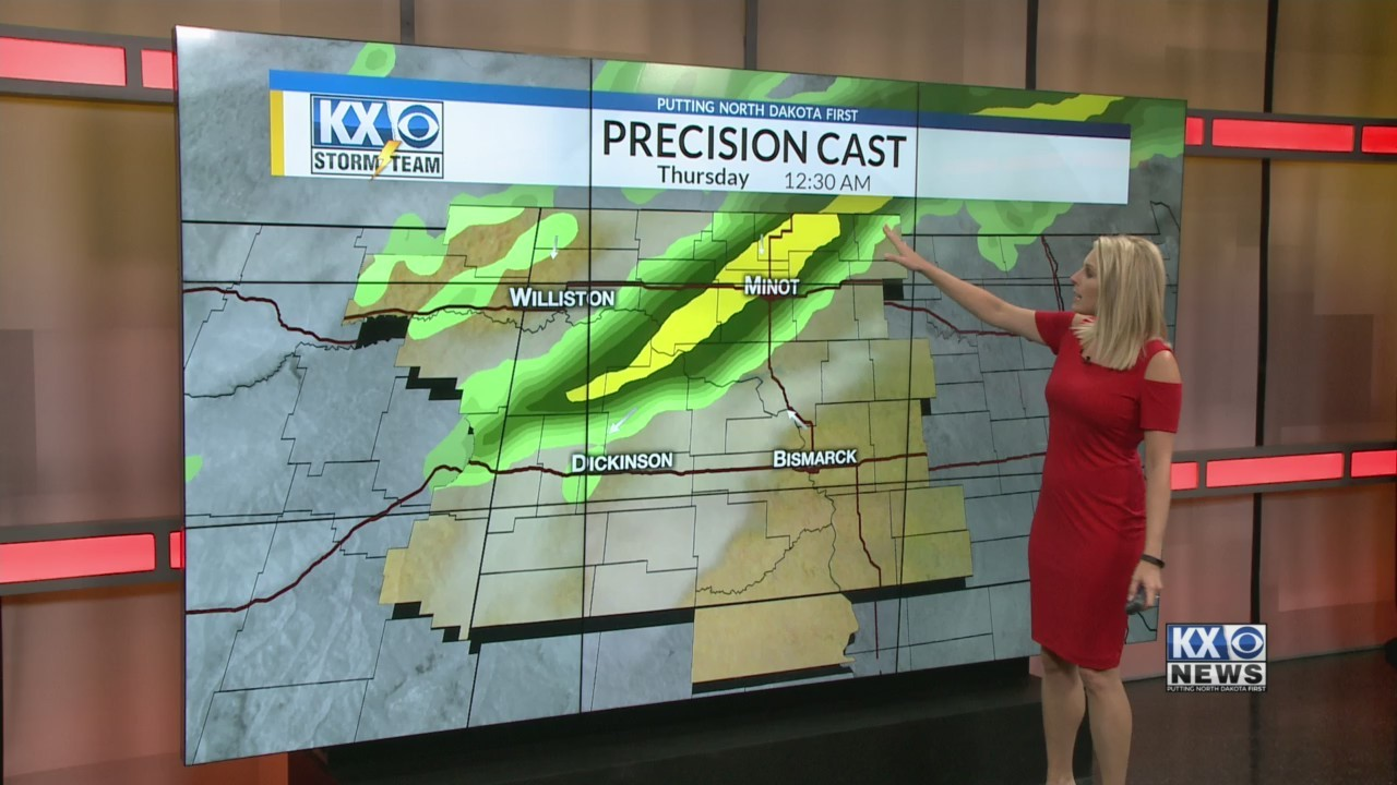 Amber's Wednesday Morning One Minute Forecast 9/12