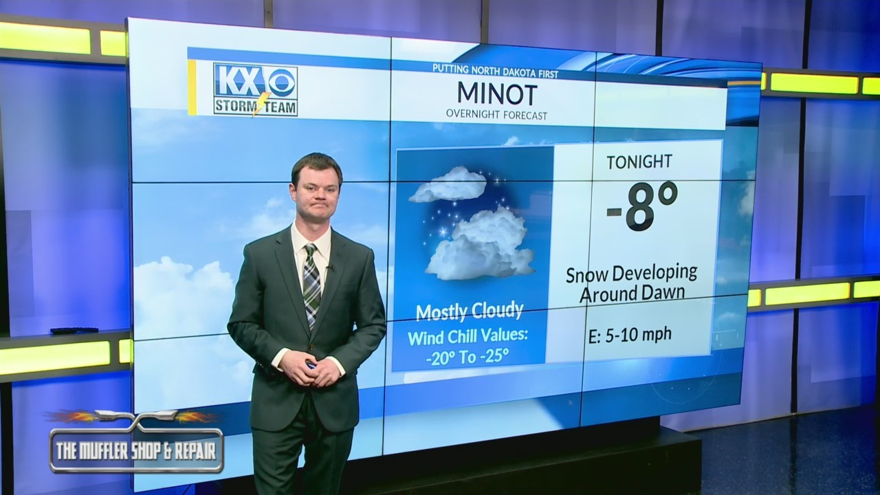 Robert's One Minute Forecast 2-10-19