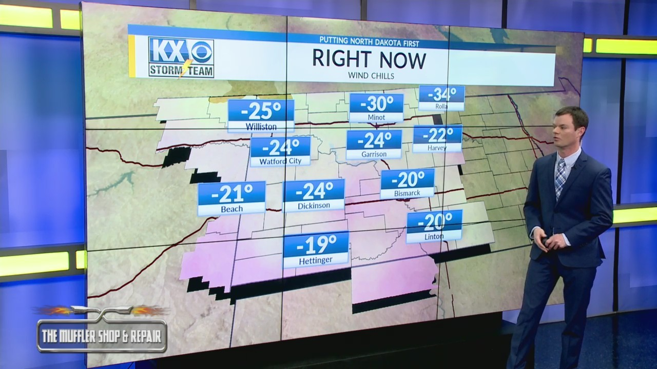 Robert's One Minute Forecast 2-9-19