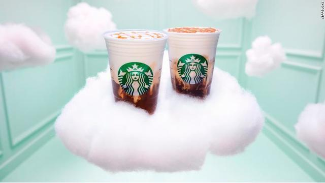 Starbucks Teams Up With Ariana Grande for New 'Cloud' Foam