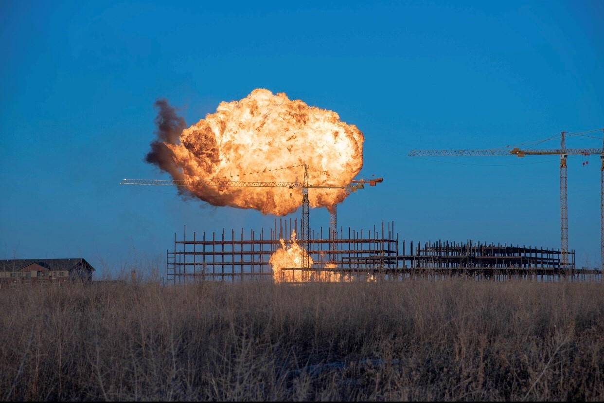 Explosion at new Trinity Hospital construction site in Minot