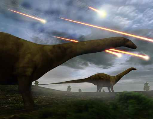 Extinction Of The Dinosaurs Meteor Shower_1553877815414