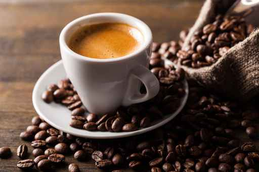 Cup of Coffee and Coffee Beans_1559579466766