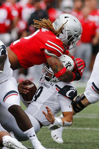 Fields, No  5 Ohio State bury Cincinnati 42-0 – KX NEWS