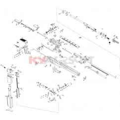 M14 Parts Diagram How To Rig Outriggers Repair Set Series We Rifles Gbbr Complete Trigger Group