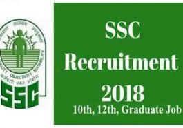 SSC Recruitment 2018 for 1136 posts, ssconline.nic.in