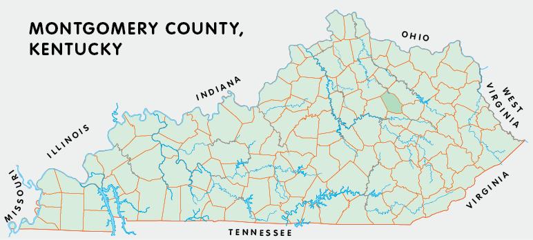 montgomery county kentucky atlas and gazetteer