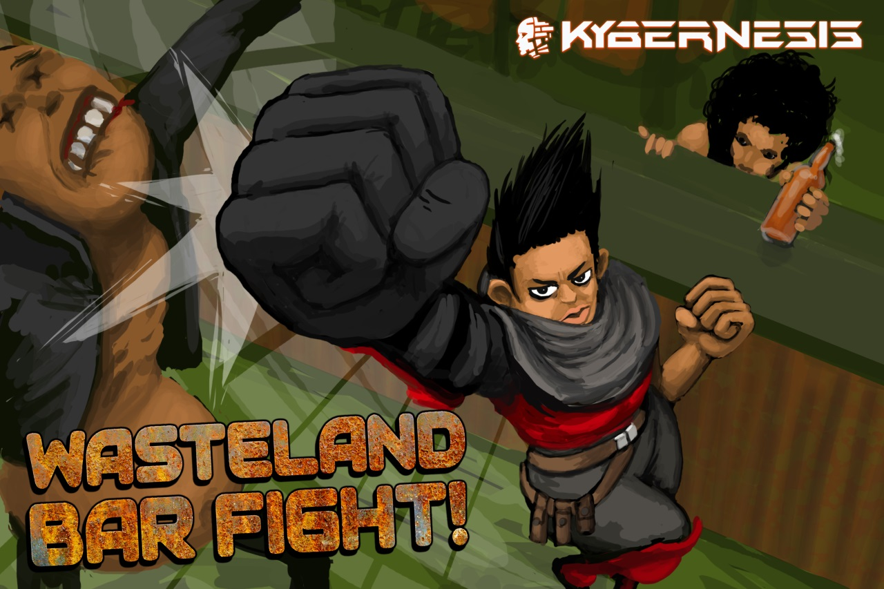 Wasteland Bar Fight: Feature