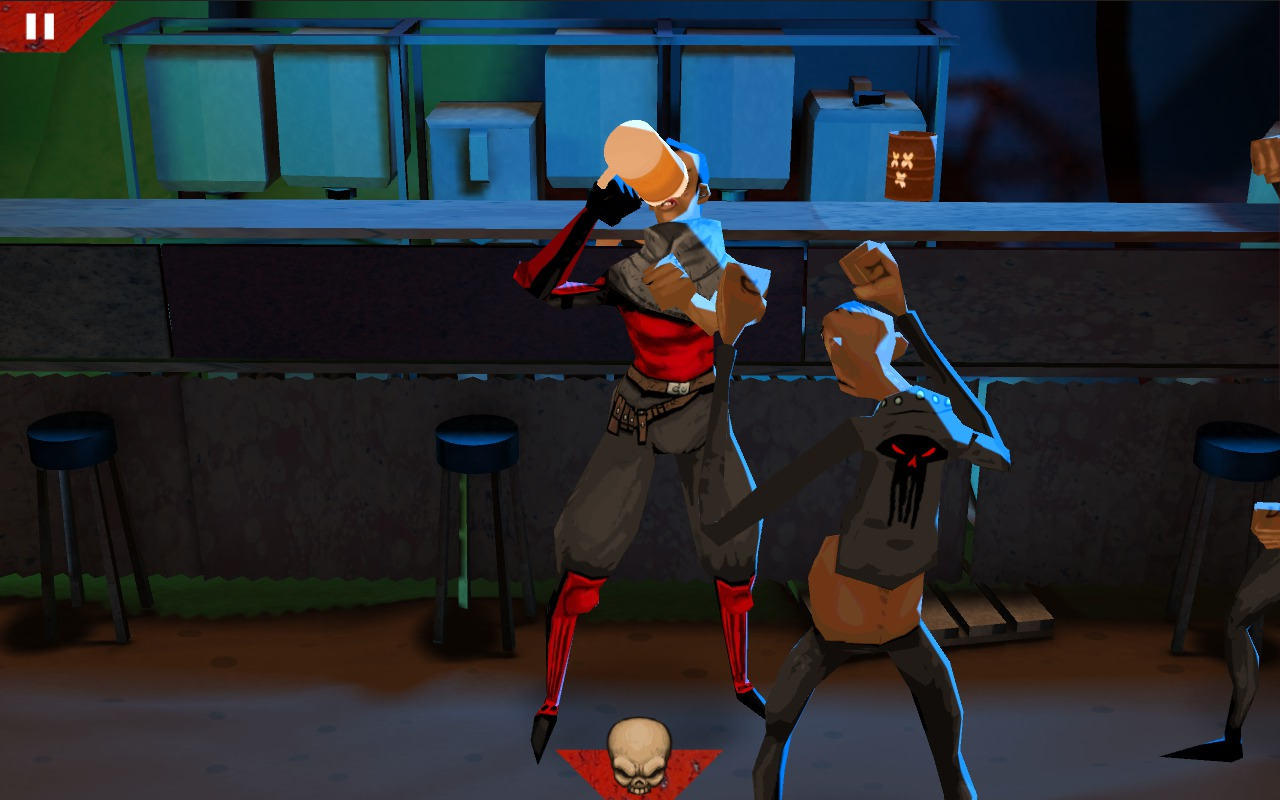 Wasteland Bar Fight: Gal Beer Time!